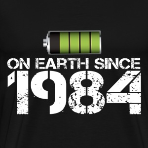 on earth since 1984 - Men's Premium T-Shirt