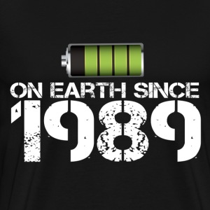 on earth since 1989 - Men's Premium T-Shirt