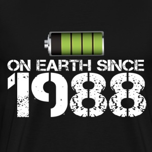 on earth since 1988 - Men's Premium T-Shirt