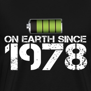 on earth since 1978 - Men's Premium T-Shirt