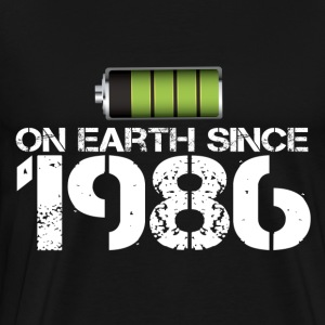 on earth since 1986 - Men's Premium T-Shirt