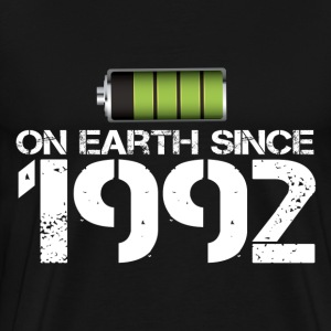 on earth since 1992 - Men's Premium T-Shirt