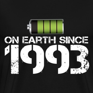 on earth since 1993 - Men's Premium T-Shirt