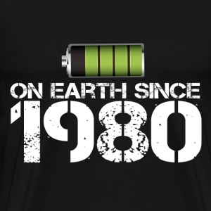 on earth since 1980 - Men's Premium T-Shirt