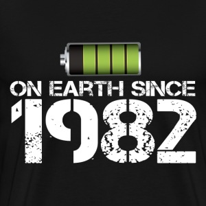 on earth since 1982 - Men's Premium T-Shirt