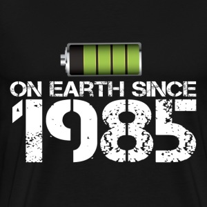 on earth since 1985 - Men's Premium T-Shirt