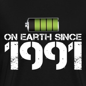 on earth since 1991 - Men's Premium T-Shirt