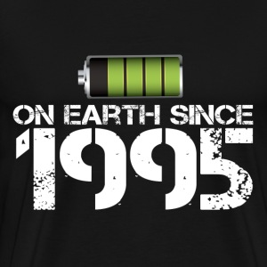 on earth since 1995 - Men's Premium T-Shirt