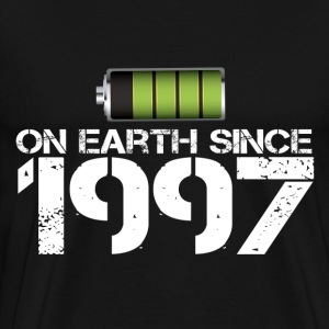 on earth since 1997 - Men's Premium T-Shirt