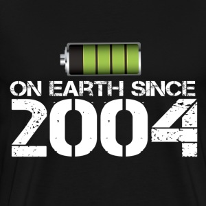 on earth since 2004 - Men's Premium T-Shirt