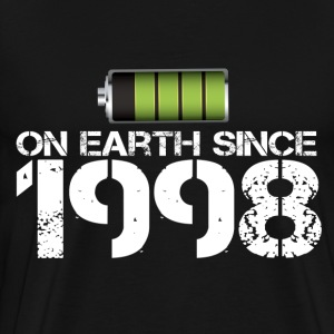 on earth since 1998 - Men's Premium T-Shirt