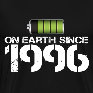 on earth since 1996 - Men's Premium T-Shirt