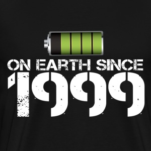 on earth since 1999 - Men's Premium T-Shirt