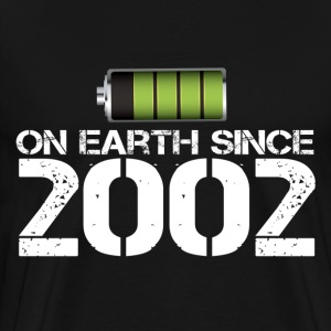 on earth since 2002 - Men's Premium T-Shirt