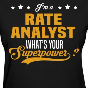 Rate Analyst - Women's T-Shirt