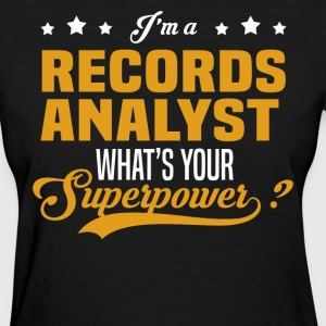 Records Analyst - Women's T-Shirt