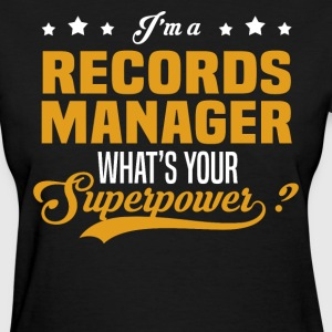 Records Manager - Women's T-Shirt