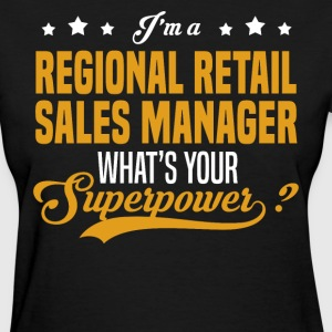 Regional Retail Sales Manager - Women's T-Shirt