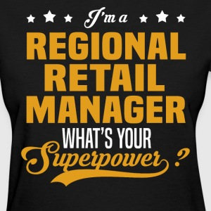 Regional Retail Manager - Women's T-Shirt