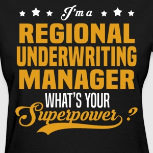 Regional Underwriting Manager - Women's T-Shirt