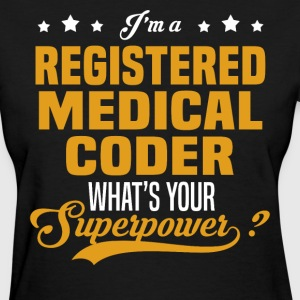 Registered Medical Coder - Women's T-Shirt