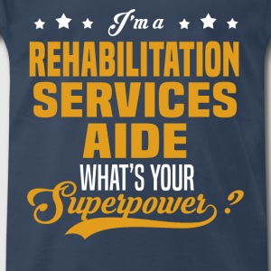 Rehabilitation Services Aide - Men's Premium T-Shirt