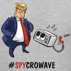 Trump Spycrowave Spying Microwave  - Women's V-Neck T-Shirt