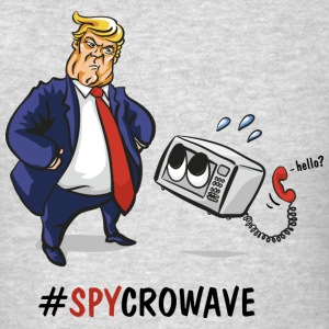 Trump Spycrowave Spying Microwave  - Men's T-Shirt