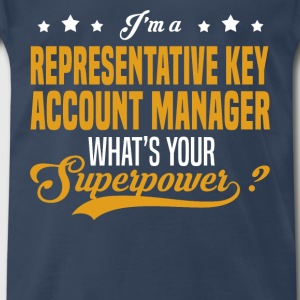 Representative Key Account Manager - Men's Premium T-Shirt