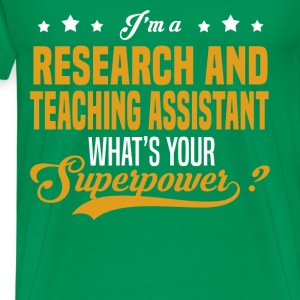 Research and Teaching Assistant - Men's Premium T-Shirt