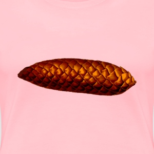 Pine cone (detailed) - Women's Premium T-Shirt