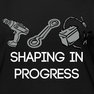 shaping in progress - Women's Premium Long Sleeve T-Shirt