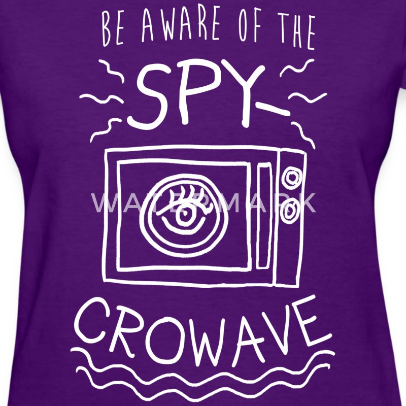 Trump Spycrowave Spying Microwave  - Women's T-Shirt