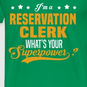 Reservation Clerk - Men's Premium T-Shirt