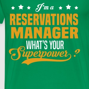Reservations Manager - Men's Premium T-Shirt
