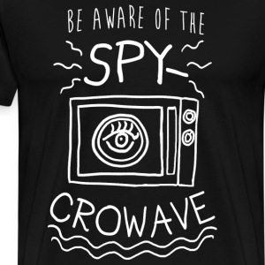 Trump Spycrowave Spying Microwave  - Men's Premium T-Shirt