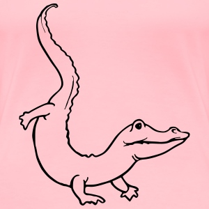 Crocodile 3 - Women's Premium T-Shirt