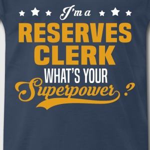 Reserves Clerk - Men's Premium T-Shirt