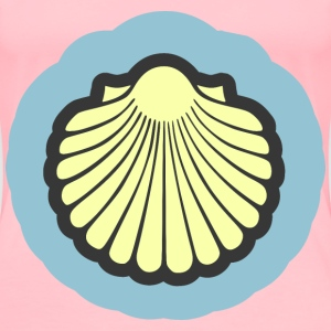 Scallop shell - Women's Premium T-Shirt