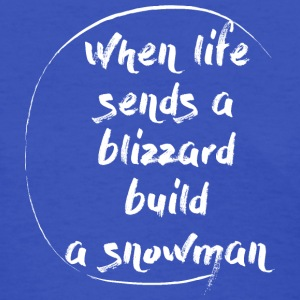 Blizzard Stella Build A Snowman - Women's T-Shirt