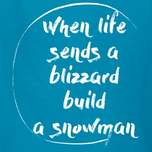 Blizzard Stella Build A Snowman - Kids' T-Shirt