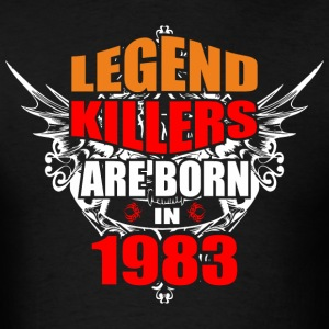 Legend Killers are Born in 1983 - Men's T-Shirt