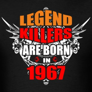 Legend Killers are Born in 1967 - Men's T-Shirt