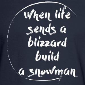 Blizzard Stella Build A Snowman - Men's Long Sleeve T-Shirt