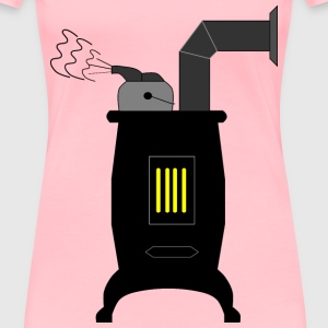 Wood Stove - Women's Premium T-Shirt