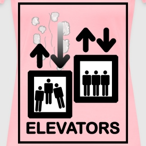Elevator Sign - Women's Premium T-Shirt