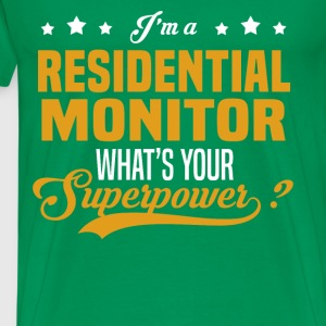 Residential Monitor - Men's Premium T-Shirt