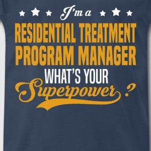 Residential Treatment Program Manager - Men's Premium T-Shirt