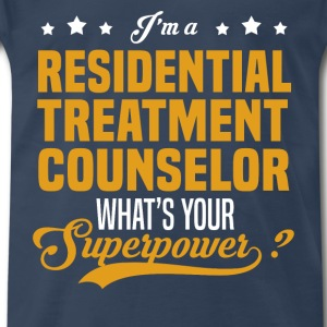 Residential Treatment Counselor - Men's Premium T-Shirt