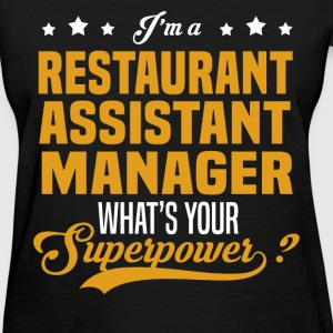 Restaurant Assistant Manager - Women's T-Shirt